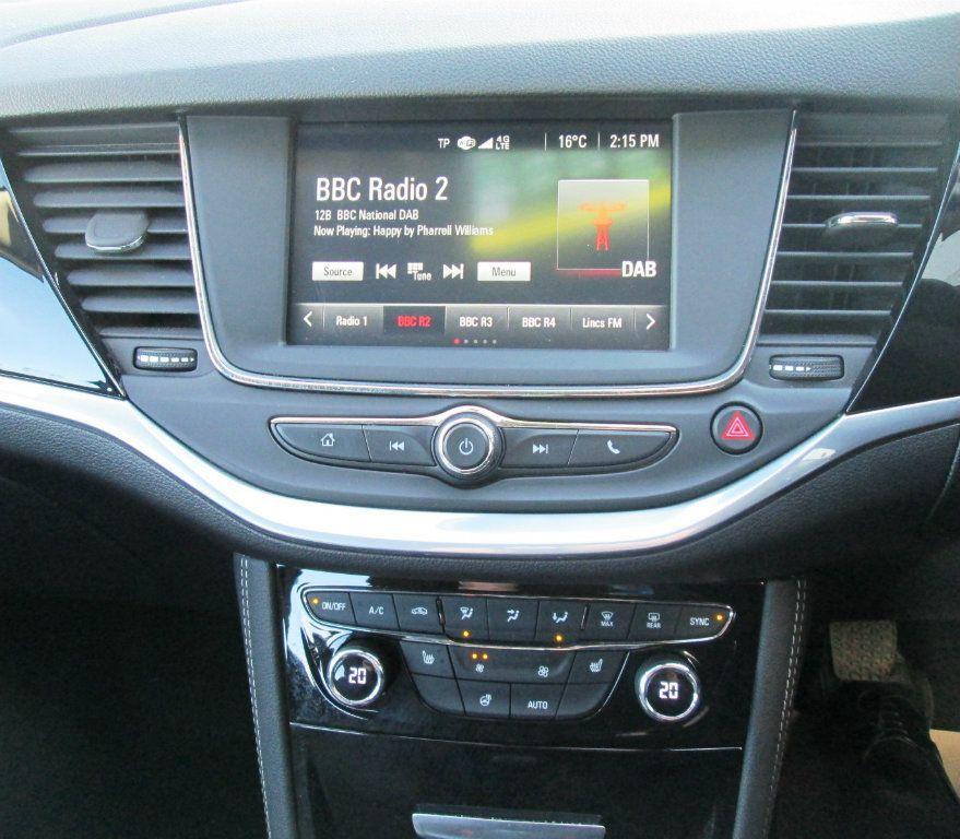VAUXHALL Astra 1.4 I Turbo 16v Elite 5dr 2017 Only GBP