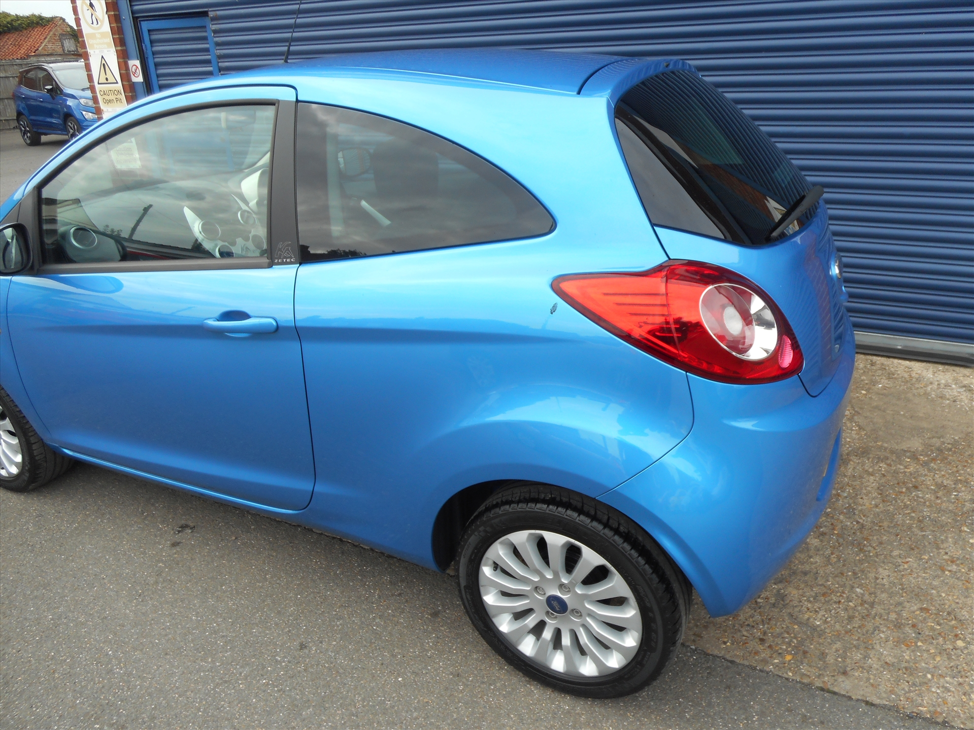 Ford Ka Zetec  Only Gbp  B Eyre And Son Ltd  High Street Tattershall Lincolnshire