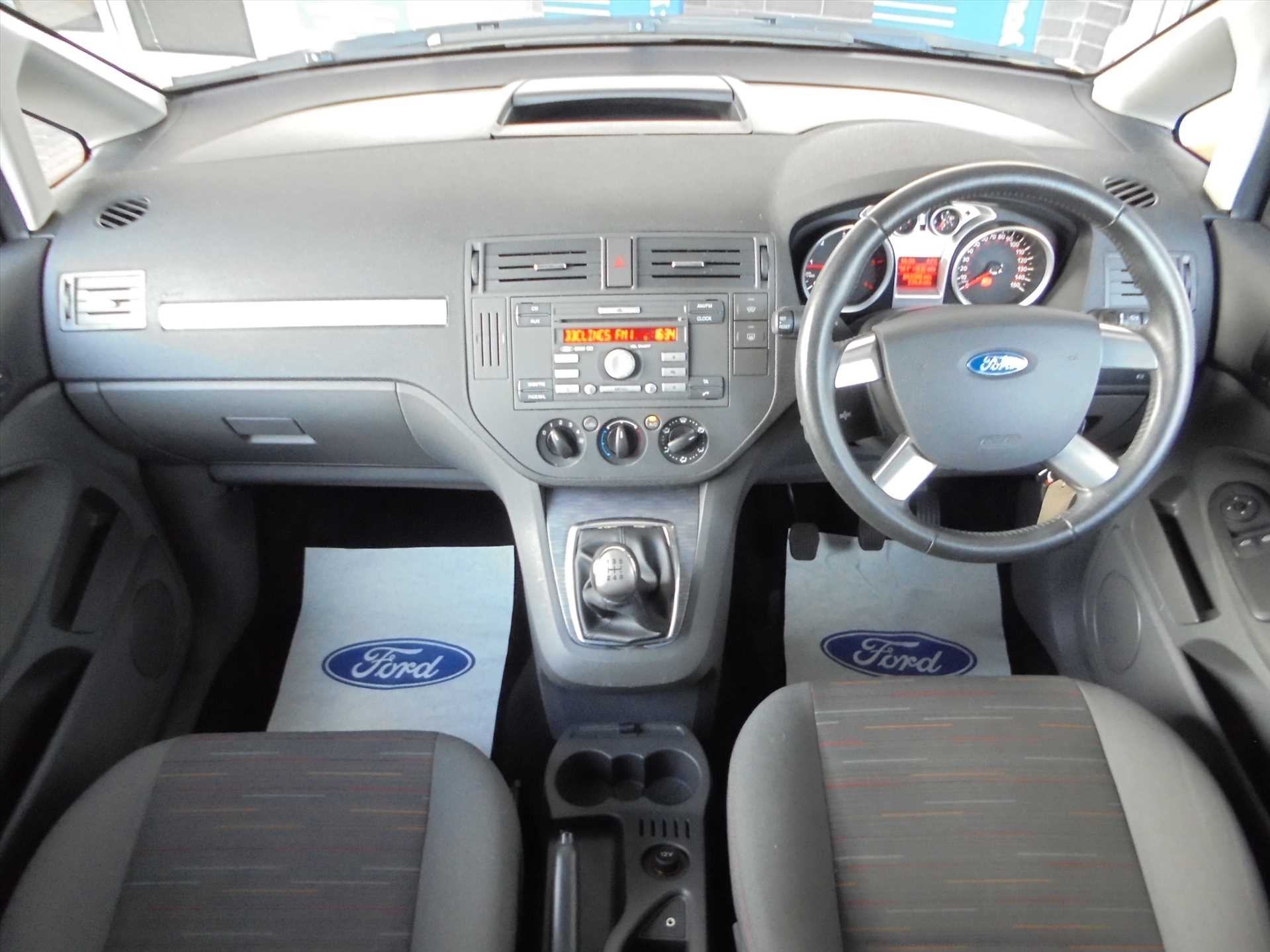 Ford C Max Zetec 18td 115ps 0 Only Gbp 3995 Taylors Boston B Interior