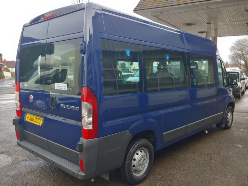 Fiat Ducato 35 Lwb 6 Seat Wheelchair Disabled Accessible